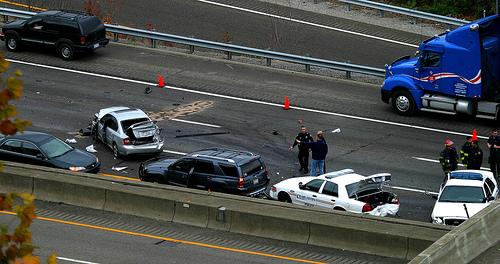 Vehicle Wreck Spans WV
