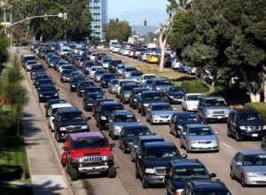 Traffic jam involving 1 in 7 drivers with no auto insurance